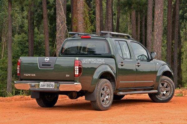 Nissan Frontier Attack 2021