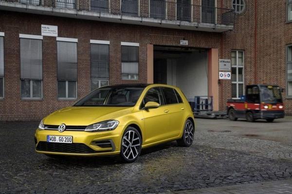 New VW Golf 2021