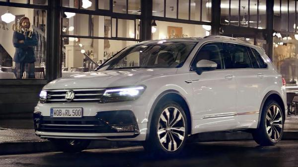 new vw tiguan 2021  launch  photos and price
